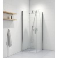 Oltens Trana kabina prysznicowa 80x80 cm kwadratowa drzwi ze ścianką 20003100