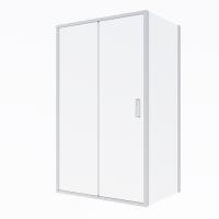 Oltens Fulla kabina prysznicowa 110x80 cm prostokątna drzwi ze ścianką 20207100