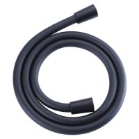 Oltens Ronneby wąż prysznicowy 125 cm czarny mat 37200301