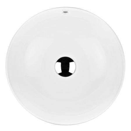 Oltens Fana umywalka 42 cm nablatowa z powłoką SmartClean