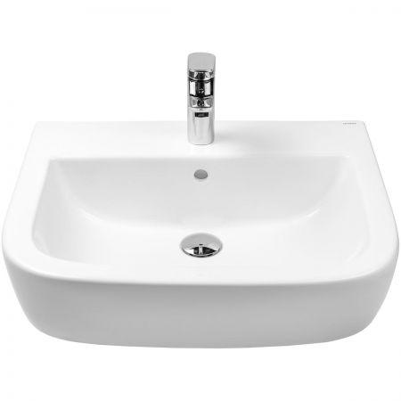 Oltens Vernal umywalka 56x45 cm wisząca z powłoką SmartClean