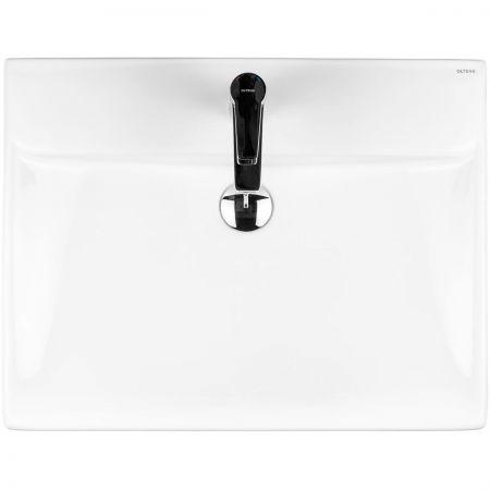 Oltens Hofsa umywalka 60x46 cm nablatowa z powłoką SmartClean