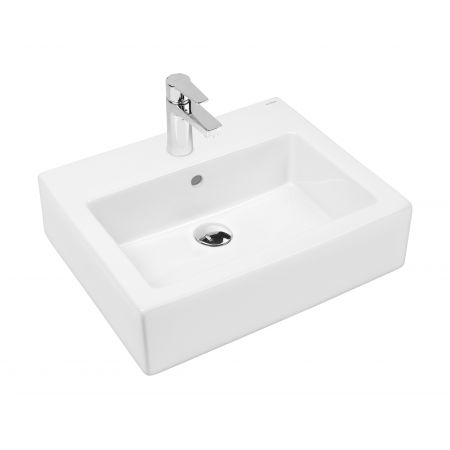 Oltens Susa umywalka wisząca 50x41 cm z powłoką SmartClean