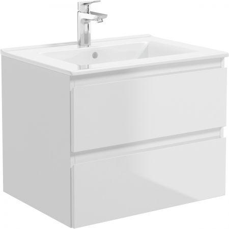 Oltens Vernal umywalka z szafką 60 cm biała 68002000