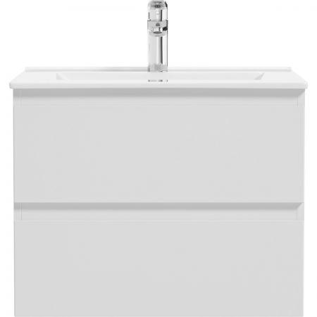 Oltens Vernal szafka 60 cm podumywalkowa wisząca biały połysk 60002000
