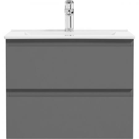 Oltens Vernal szafka 60 cm podumywalkowa wisząca grafit 60000400