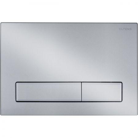 Oltens Torne przycisk spłukujący do WC chrom matowy