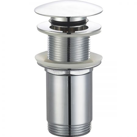 Oltens Rovde korek do umywalki klik klak okrągły bez przelewu G1 1/4 chrom