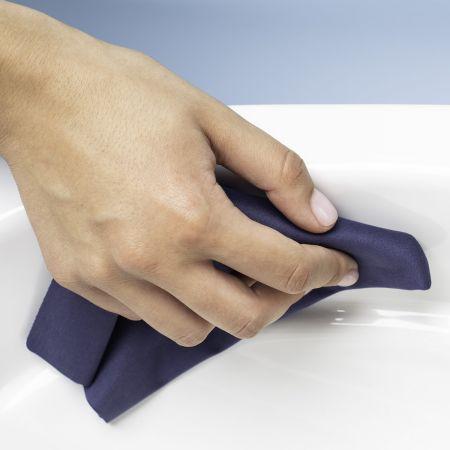 Oltens Jog miska WC wisząca PureRim biała 42001000