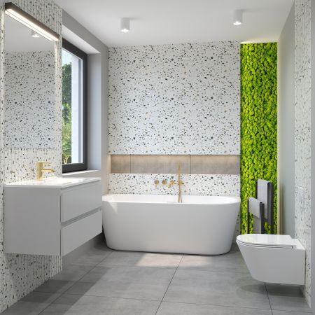 Zestaw Oltens Jog miska WC wisząca PureRim z powłoką SmartClean z deską wolnoopadającą Slim 42505000